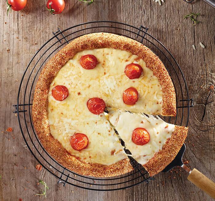 Margaritha Simit Pizza