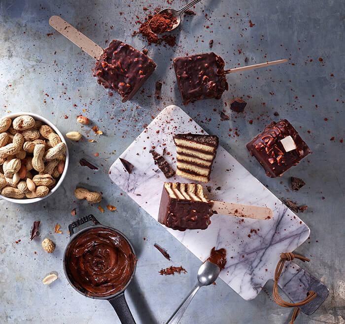 Çikolatalı Kek Pops