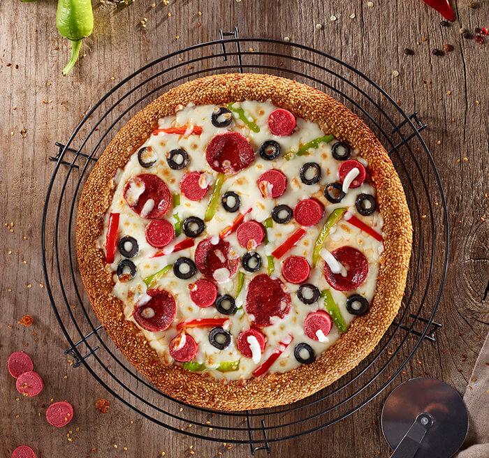 Karışık Simit Pizza