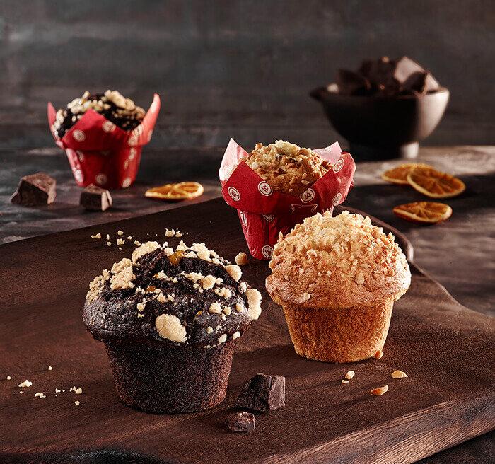 Çikolatalı ve Üzümlü Muffin