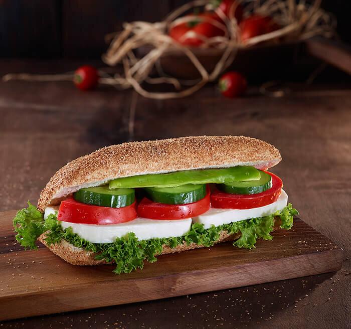 Beyaz Peynirli Kepekli Sandviç
